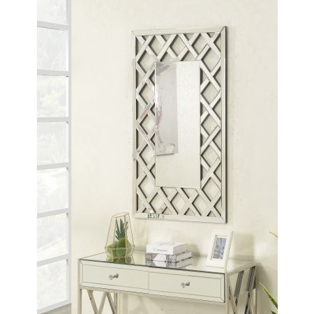 Pacific Rectangular Mirror 4ftx3ft