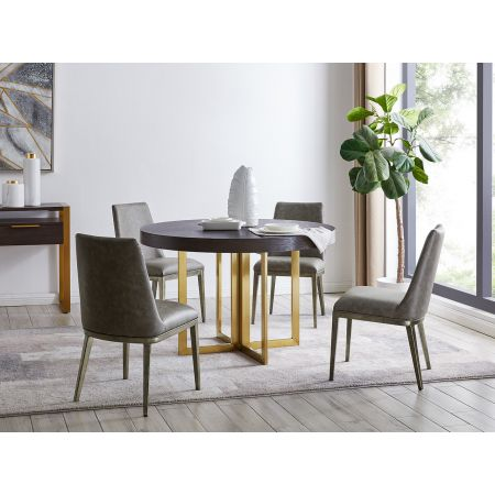 Sanremo Dining Table & 4 Chairs
