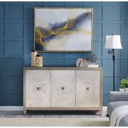 Nova Sideboard & Navy Vibes Wall Art