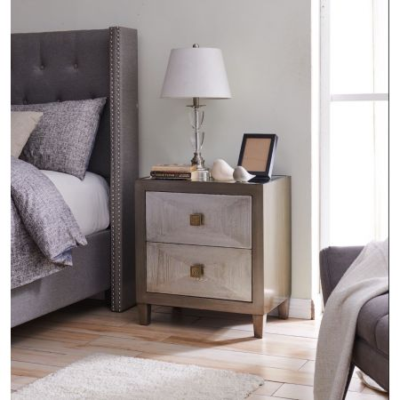 Nova 2 Drawer End Table