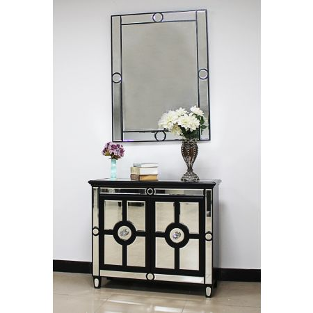 Henley Mirror & 2 Door Chest Set