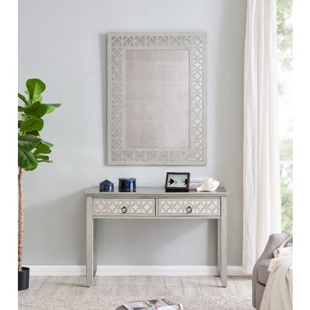 Russell Console Table & Mirror