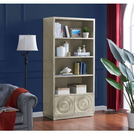 Frenso Bookcase-Silver