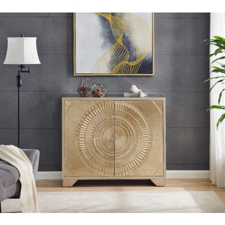Frenso 2 Door Sideboard Gold