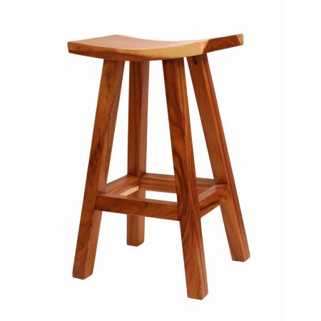 High Rustic Stool