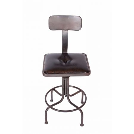 Highback Draft Swivel Stool