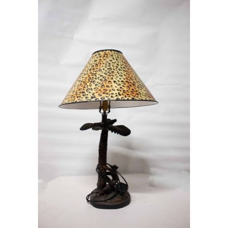 African themed table lamp