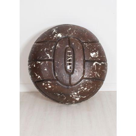 Vintage football sign