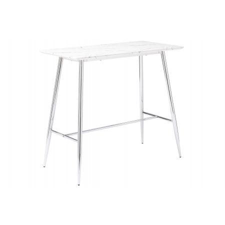 Doyen High Bar Table - Chrome