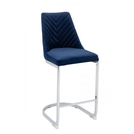 Wilton Bar Stool - Blue (Set of 2)