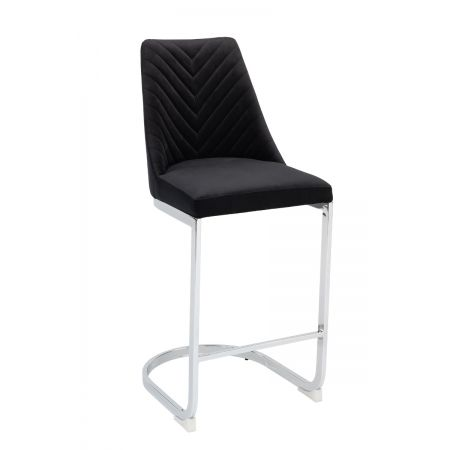 Wilton Bar Stool - Black (Set of 2)