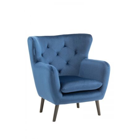 Yak Armchair - Royal Blue - Velvet