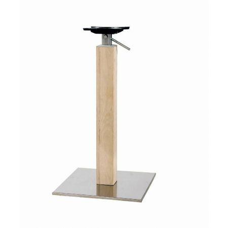 Adjustable Table Base Timber Column