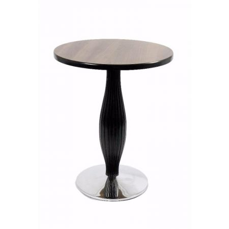 Round Dome Tulip Reeded Timber Column