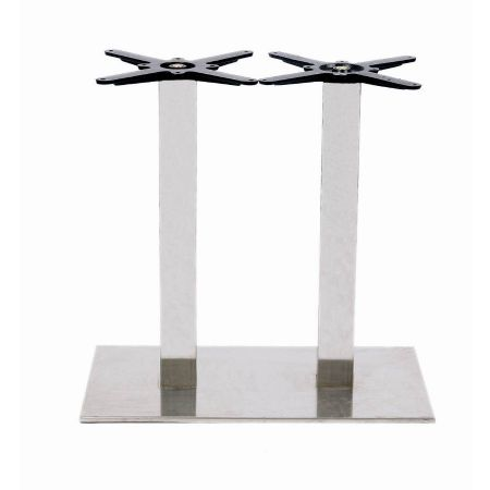 Rectangular Doubl Pedestal Lama All St/Steel