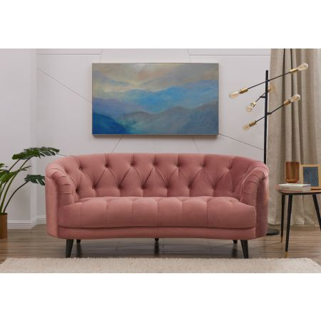 Seattle Love Seat Pink