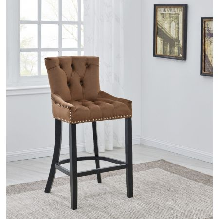 Cindy Barstool Black/Mink
