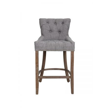 Cindy Barstool Oak/Grey