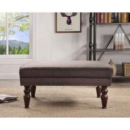 Hampton Footstool- Mink