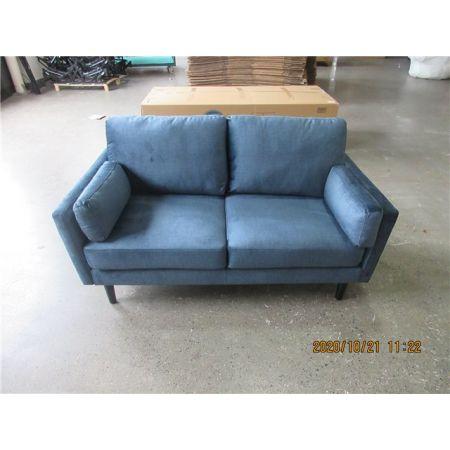 Teddy 2 Seater Sofa - Teal Velvet