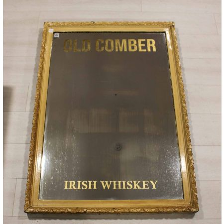 Old Comber Irish whiskey mirror