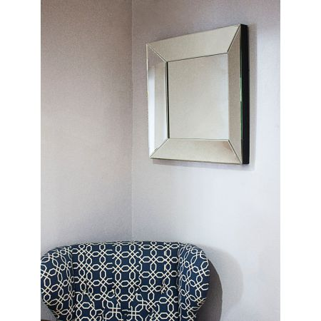 Square Beveled Tray Mirror