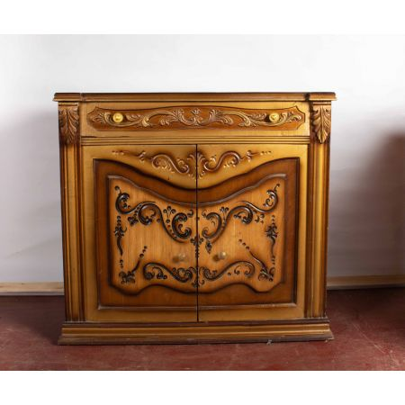 Carved 3 tone chest