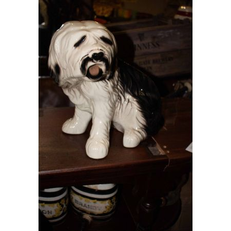 Porcelain figurine of a dog