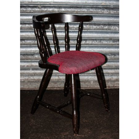 Mates chairs red upholstered seat