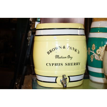 Cyprus Scherry ceramic dispenser