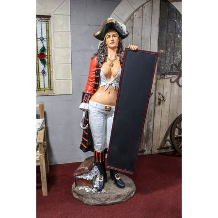Pirate Lady Menu Board