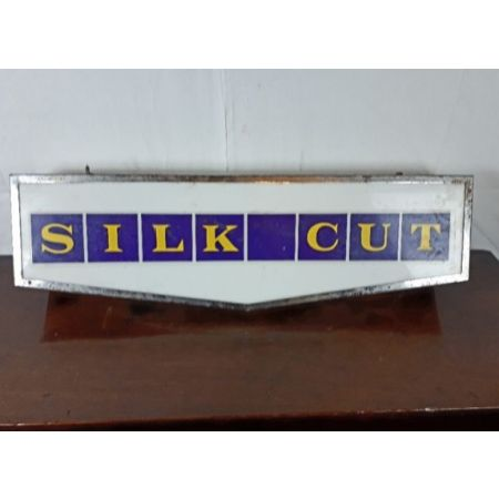 Silk cut vintage neon