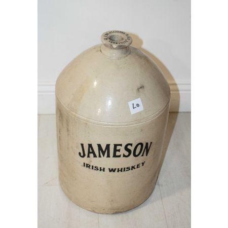 Jameson Irish whiskey stone barrel