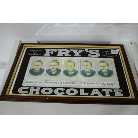 Fry's Chocolate ad mirror