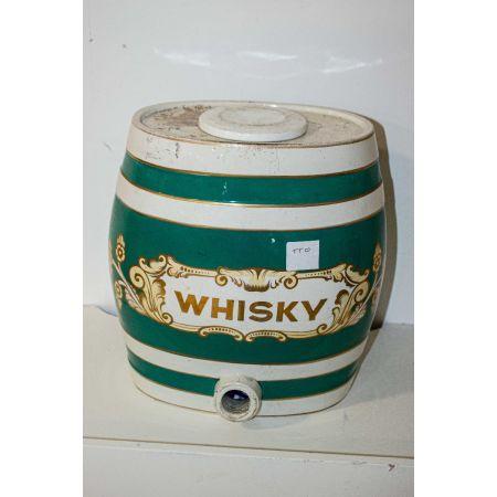 Ceramic Irish Whiskey dispenser