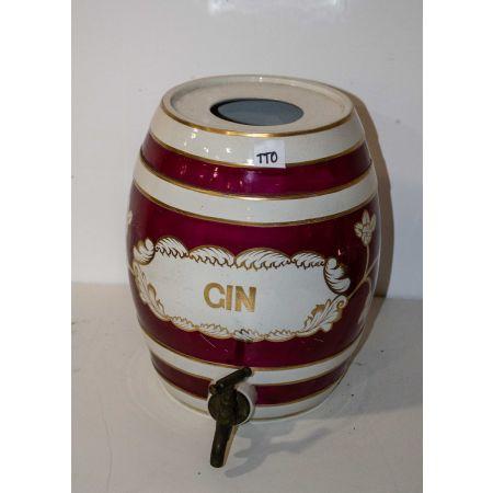 Ceramic Gin dispenser