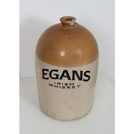 Egans Irish Whiskey stone flagon