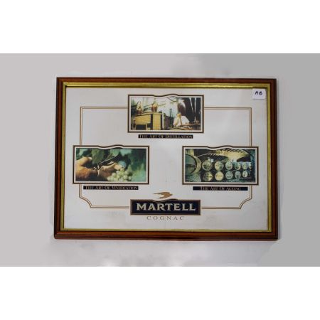 Martell Cognac advertising mrror