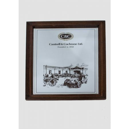 Cantrell & Cochrane ltd advertising mirror