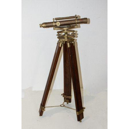 LARGE BRASS TELESCOPE