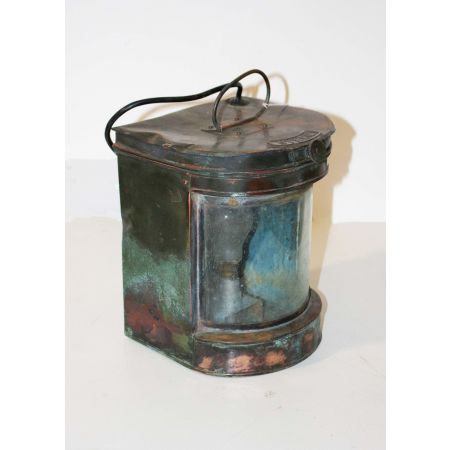 COPPER OLD SHIP LAMP