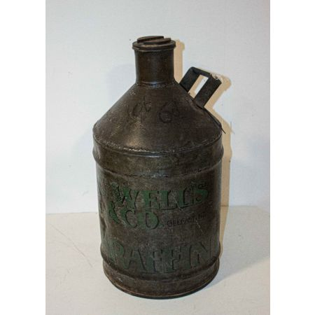 A.C. WELLS & CO PARAFFIN CAN
