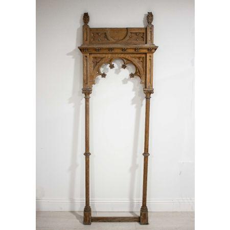 Gothic wooden frame