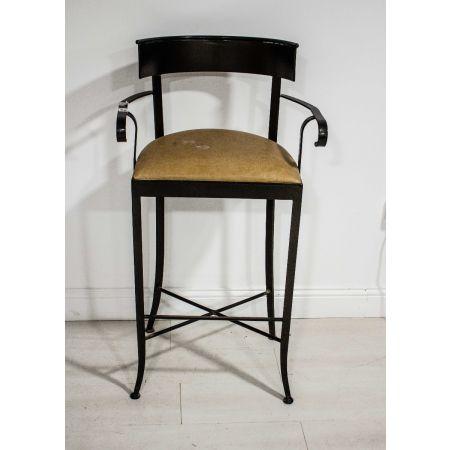 Iron high stool