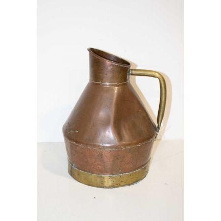 Brass vintage jug
