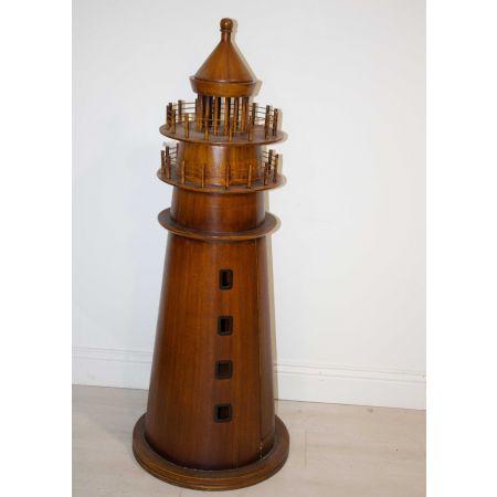 Wooden model of lighthouse