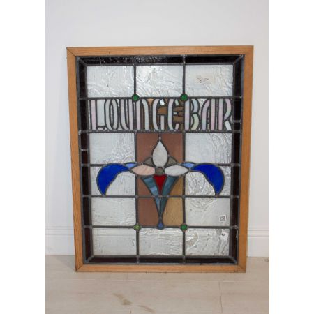 Lounge bar stain window
