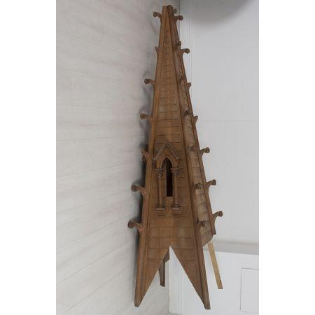 Gothic wooden spire