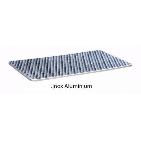 Inox Aluminium rectangle Top