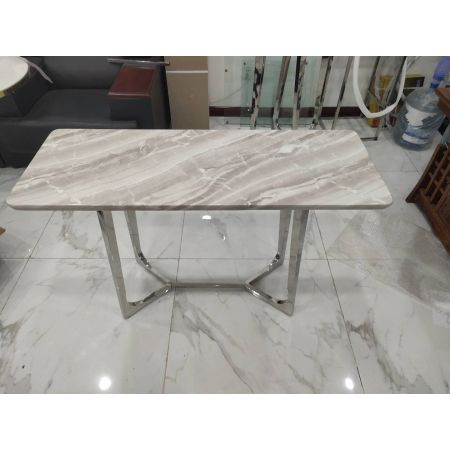 Lima Console Table (Real Marble Top)